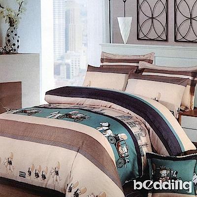 BEDDING-活性印染單人鋪棉床包兩用被套三件組-格林童話