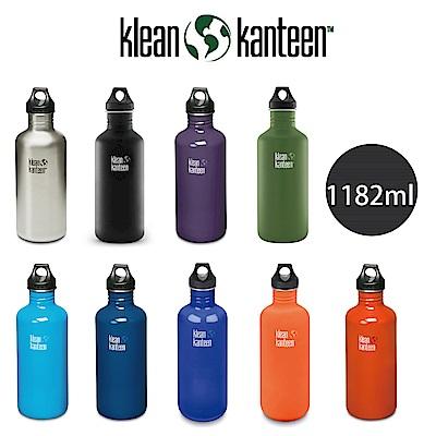 美國Klean Kanteen 窄口不鏽鋼水瓶(1182ml)