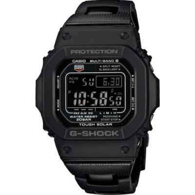 G-SHOCK 世界六局電波太陽能數位電子錶-黑(GW-M5610BC-1D)/35mm