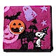 SNOOPY史努比萬聖節派對 小方巾(A款-紫色) product thumbnail 1