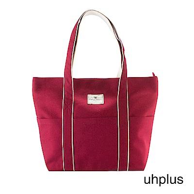 uhplus 學院托特包(紅)