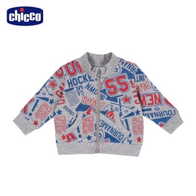 chicco-To Be Baby-曲棍球滿底印花外套