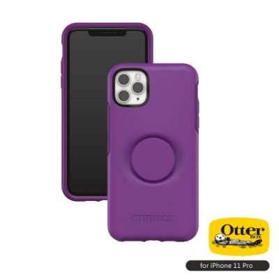 OtterBox Otter+Pop iPhone 11 Pro(5.8吋)專用 防摔吸震保護殼-Symmetry炫彩幾何泡泡騷系列■紫