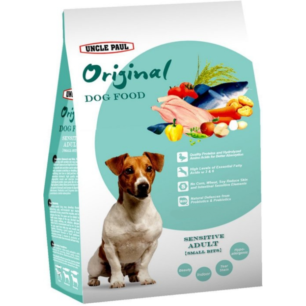 保羅叔叔 田園生機《低敏成犬〈小〉》犬糧 3KG @ Y!購物
