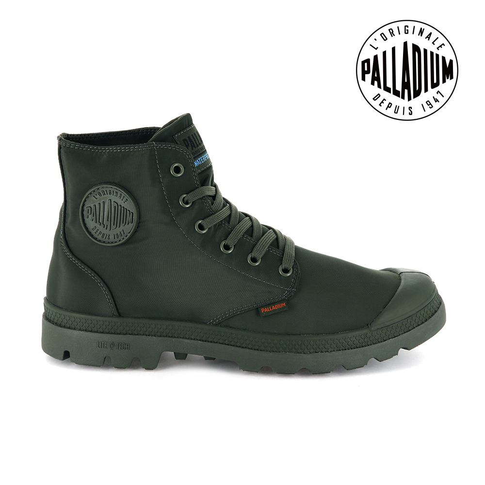 Palladium PAMPA PUDDLELITE+WP輕量防水靴-女-綠