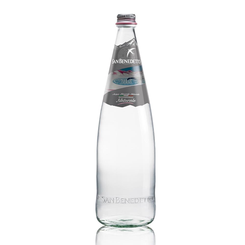 San Benedetto聖碧濤 義大利天然礦泉水玻璃瓶(1Lx12入)