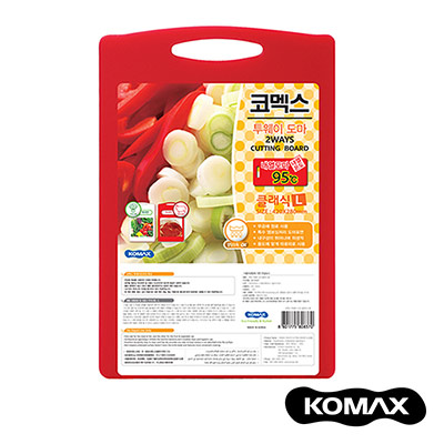 韓國KOMAX 抗菌銀離子頂級兩用砧板(大)