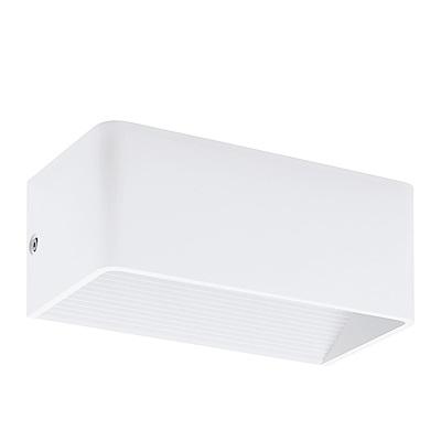 EGLO歐風燈飾 時尚白美型LED小壁燈