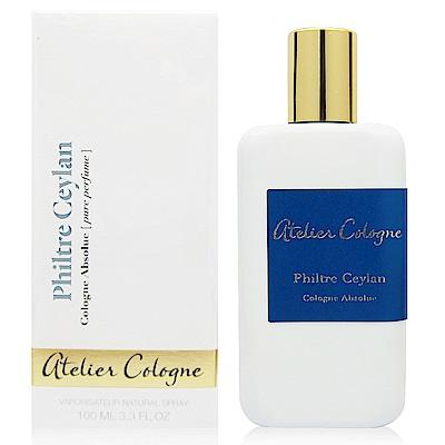 Atelier Cologne Philtre Ceylan錫蘭紅茶香水100ml法國進口