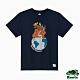 Roots男裝- 環保有機棉系列 愛護地球短袖T恤-藍色 product thumbnail 1