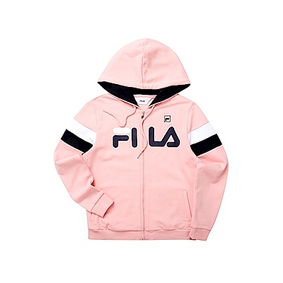 FILA 女針織外套-粉色 5JKT-5512-PK