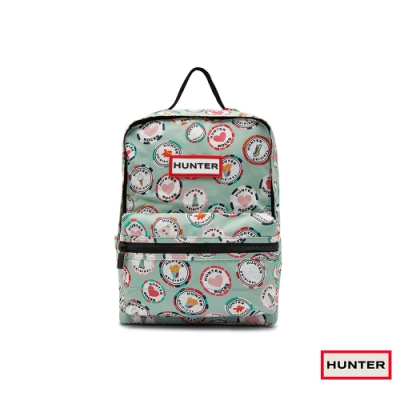HUNTER - 配件-兒童印花經典後背包 - 粉綠