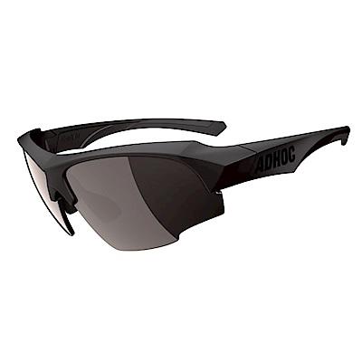 【ADHOC】運動太陽眼鏡-鍍膜鏡片-半框式K-NIGHT II