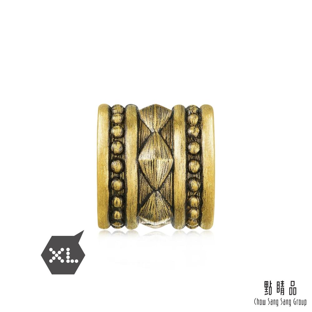 點睛品 Charme XL 酷黑系列 率性 黃金串珠