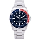 SEIKO SPORTS款機械手錶(SNZF15J1)-黑面X藍、紅色框/40mm product thumbnail 1