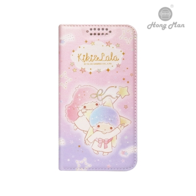 【Hong Man】三麗鷗系列 iPhone12 /12 Pro 6.1吋手機皮套 雙子星 夢幻星空