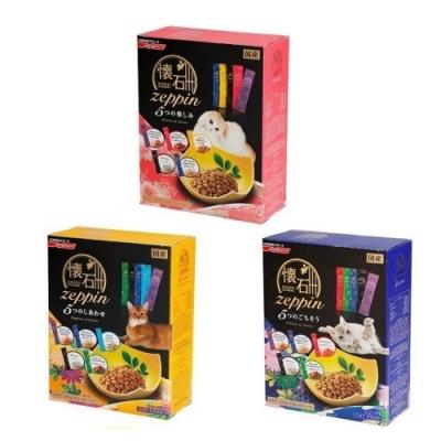 日清懷石zeppi-5Dish懷石極品-5味【樂趣貓糧/盛宴貓糧/幸福貓糧】220克 兩盒組