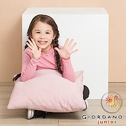 GIORDANO童裝G-Warmer彈力舒適高領極暖衣- 60 凡丹戈紫粉/皎雪