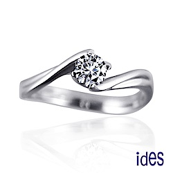 (無卡分期12期) ides愛蒂思 精選30分E/VS1八心八箭完美車工鑽石戒指