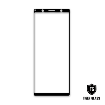 T.G SONY Xperia 5 全包覆滿版鋼化膜手機保護貼(防爆防指紋)
