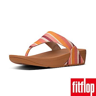 FitFlop TM-LULU TOE-THONG SANDALS(橘色條紋)