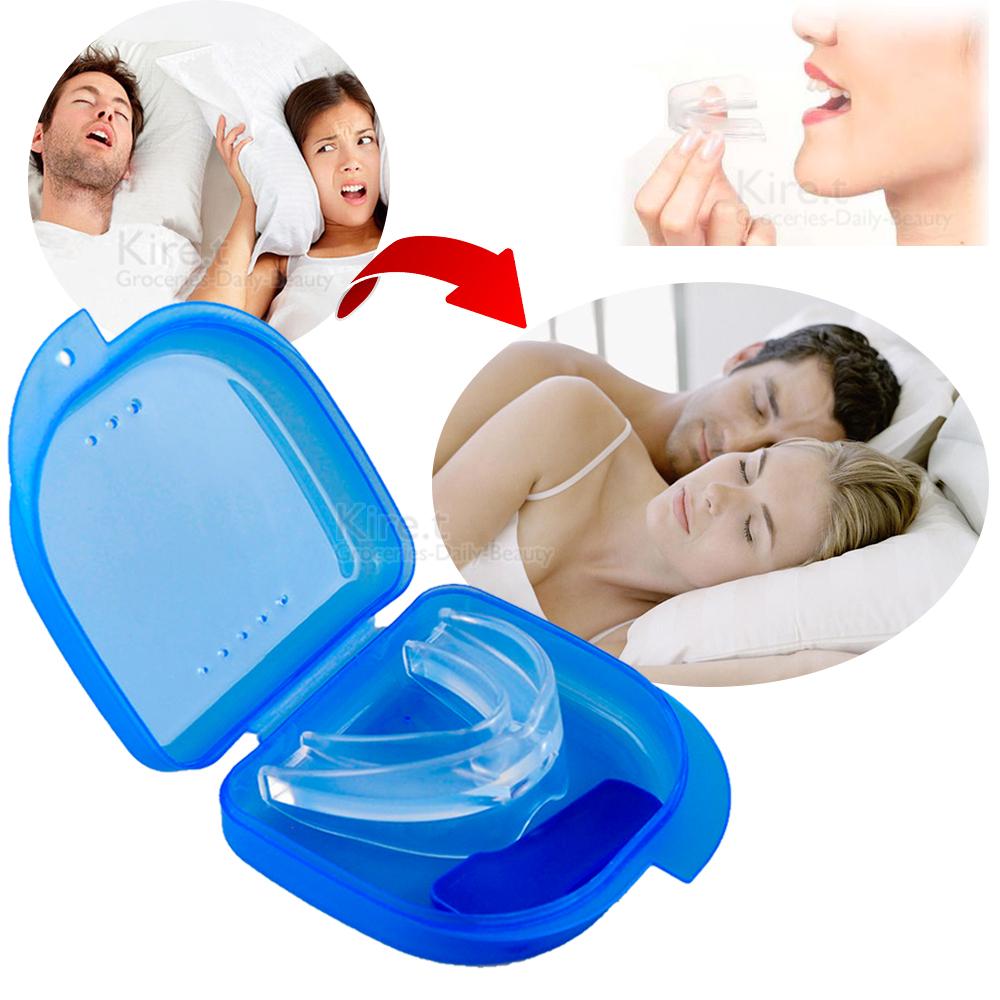 kiret 雙管齊下 睡覺 打呼神器-牙套 止鼾器+贈迷你止鼾夾鼻