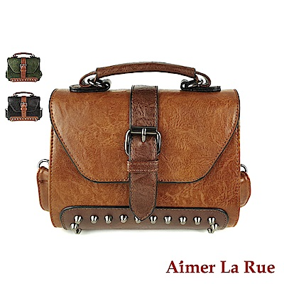 Aimer La Rue 側背斜背包 復古亞斯科系列(三色)