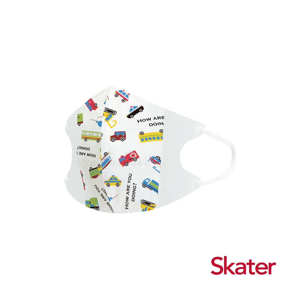 Skater幼兒立體口罩- 小司機(5入/包)共6包 @ Y!購物