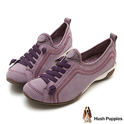 Hush Puppies QUALIFY 熱銷彈力休閒鞋-粉紅