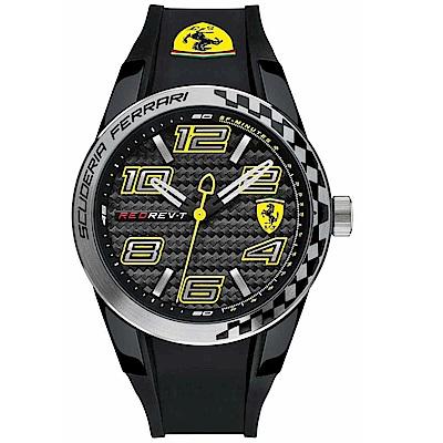 FERRARI 法拉利/狂熱飆速運動計時腕錶/FA0830337