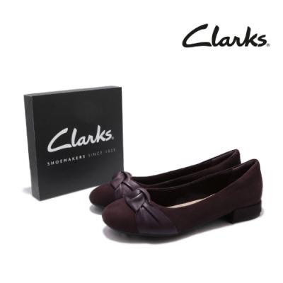 Clarks 休閒鞋 Rosabella Lola 絨皮 女鞋