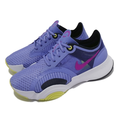 Nike 訓練鞋 SuperRep Go 運動 女鞋 健身房 舒適 避震 包覆 支撐 球鞋 藍 綠 CJ0860500