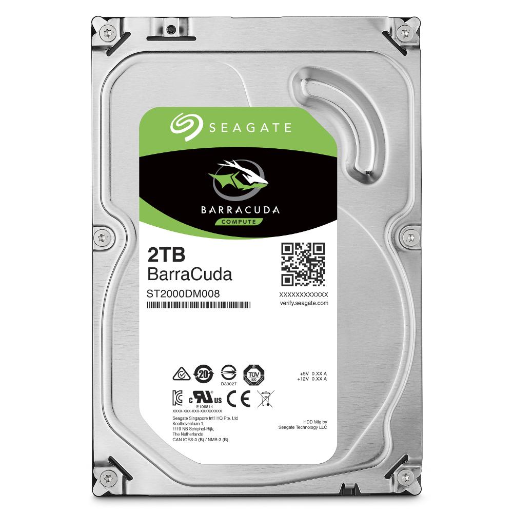 Seagate Barracuda 2TB 3.5吋 桌上型硬碟(ST2000DM008