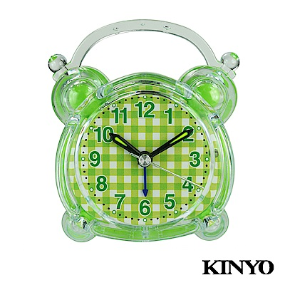 KINYO可愛造型靜音掃描鬧鐘TB711