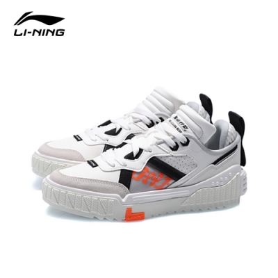 LI-NING 李寧 001 Unblock 經典系列時尚潮流休閒款 雪白色 女款(AGCQ232-2)