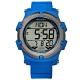 JAGA 捷卡 電子運動 倒數計時 計時碼錶 鬧鈴 日常生活防水 橡膠手錶-藍色/47mm product thumbnail 1