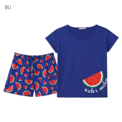 aimerfeel 享樂假期成套家居服-藍色-824179-BU