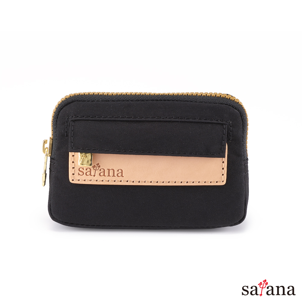 satana - Soldier 小巧零錢包/鑰匙包 - 黑色