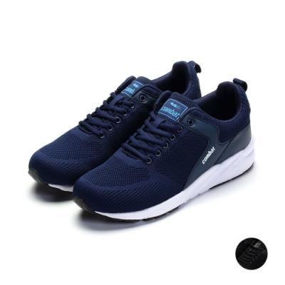 COMBAT艾樂跑男鞋-針織運動鞋-藍/黑(22572)