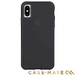 美國 Case-Mate iPhone XS/X Tough Matte 強悍防摔殼-透黑