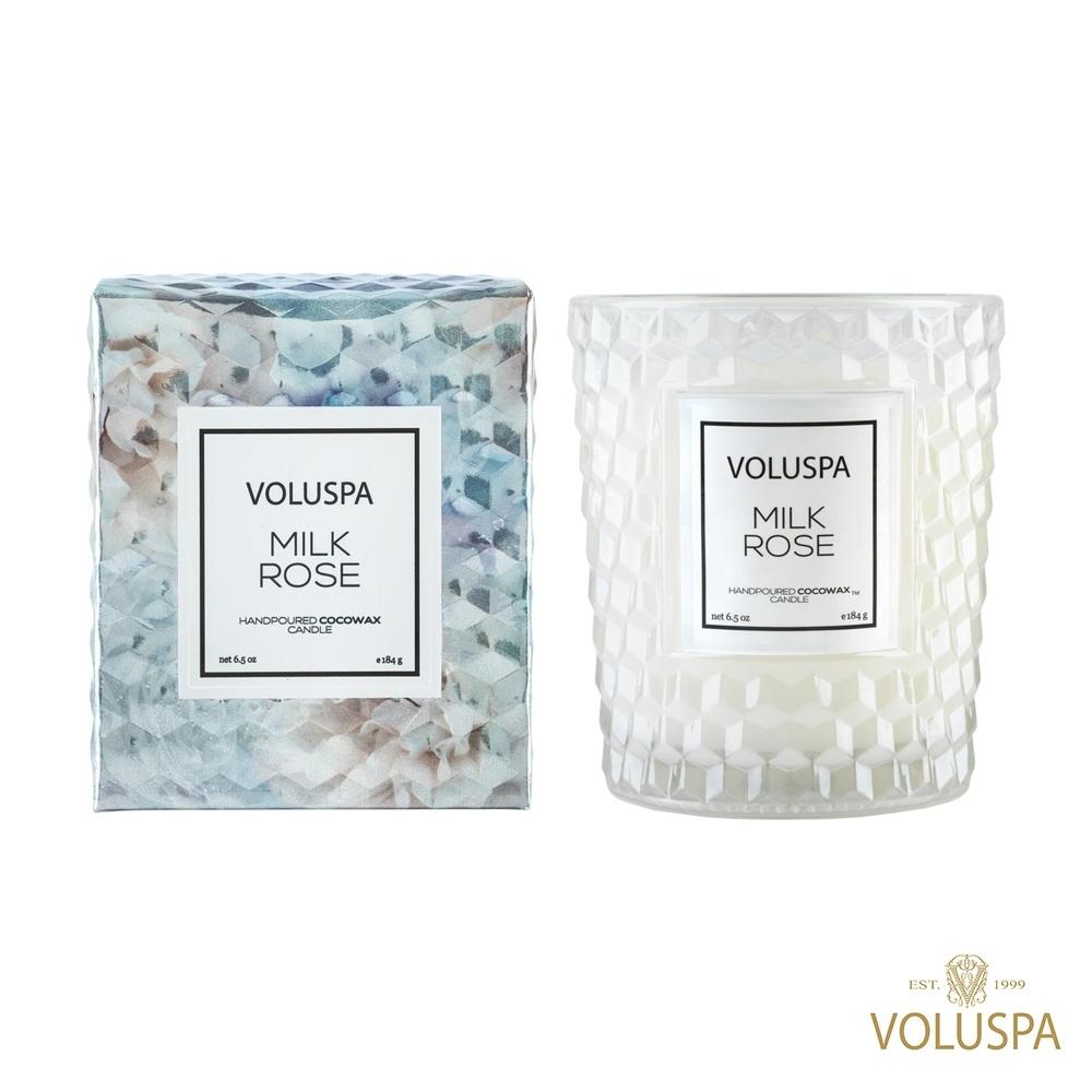 美國香氛VOLUSPA 玫瑰系列 玫瑰牛奶 184g