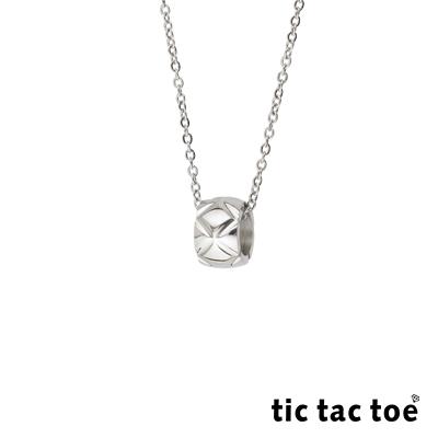 tic tac toe 白鋼女項鍊 花漾 TA-2409