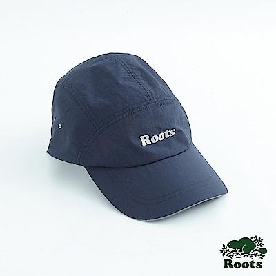 Roots配件- 慢跑棒球帽-藍