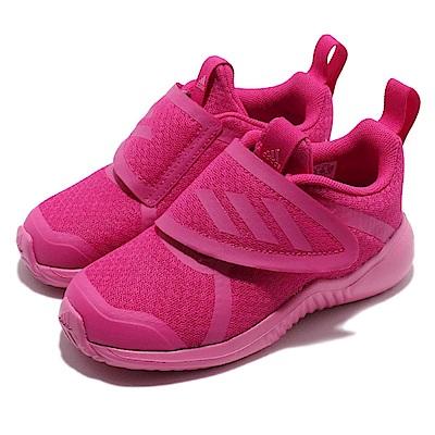 adidas 慢跑鞋 FortaRun X CF 運動 童鞋