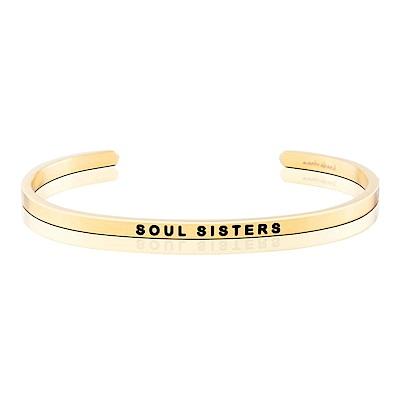 MANTRABAND Soul Sisters 知心姊妹 金色手環