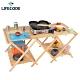 LIFECODE 雙層加寬松木折疊桌-附背袋 product thumbnail 2