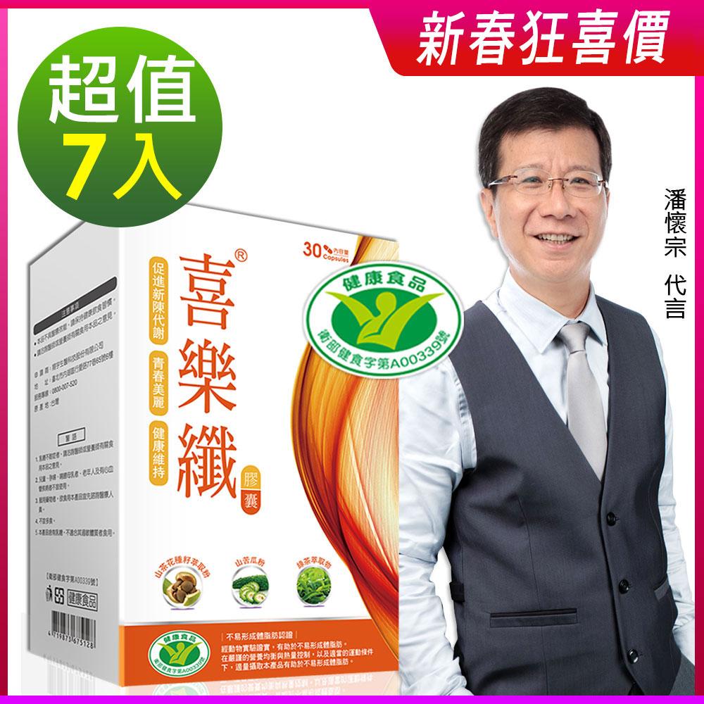 DV笛絲薇夢-潘懷宗推薦 喜樂纖膠囊7盒
