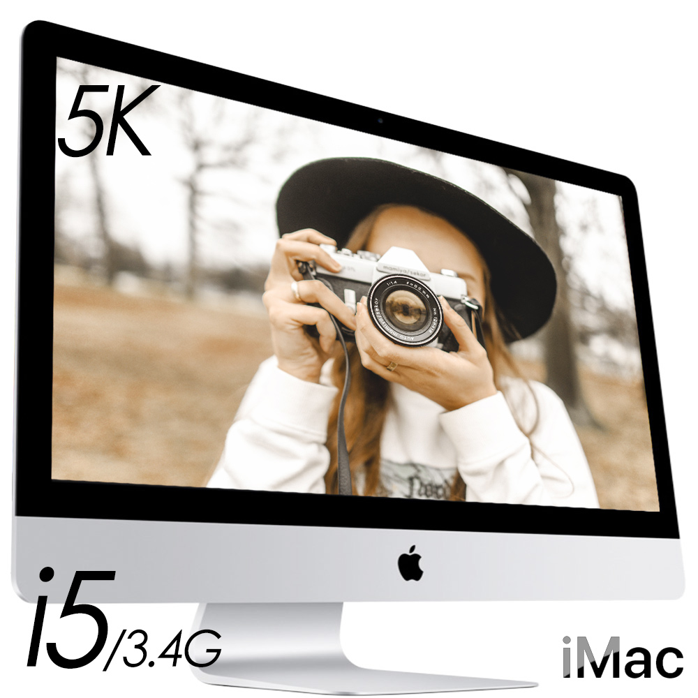 Apple iMac 27 5K/16GB/1TSSD+1T外接碟/Mac OS