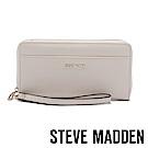 STEVE MADDEN-BDELIA-W-優雅素面壓紋百搭長夾-米色