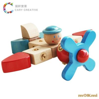 mOKmi x umu 木可米360°扣木製積木-經典組